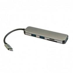 HUB 3GO USB 3.0 TYPE-C 2P...